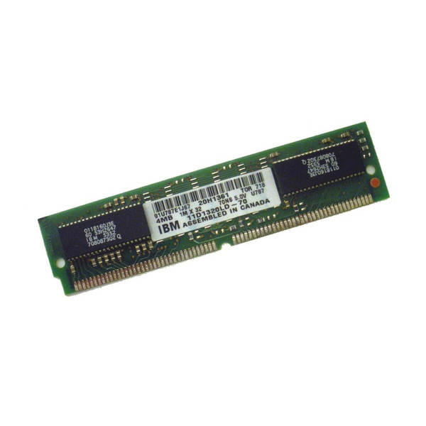 IBM 20H1361 4MB Simm Memory 4317-001 via Flagship Tech