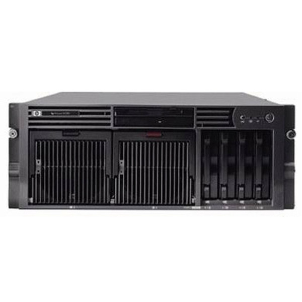 HP Compaq 201085-001 DL580 G2 Server 4x CPU 4GB RAM Rails