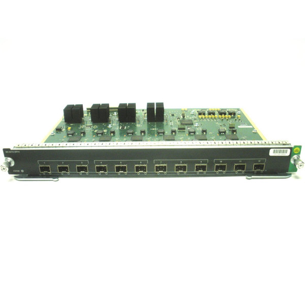 Cisco WS-X4712-SFP+E 12-Port 10GbE SFP Module Catalyst 4500 Series
