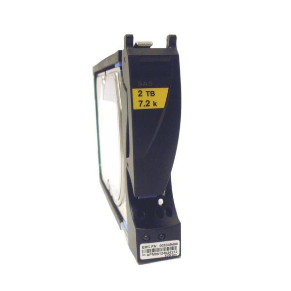 EMC 005049496 2TB 7.2K 3.5 SAS VNX Hard Drive Disk via Flagship Tech