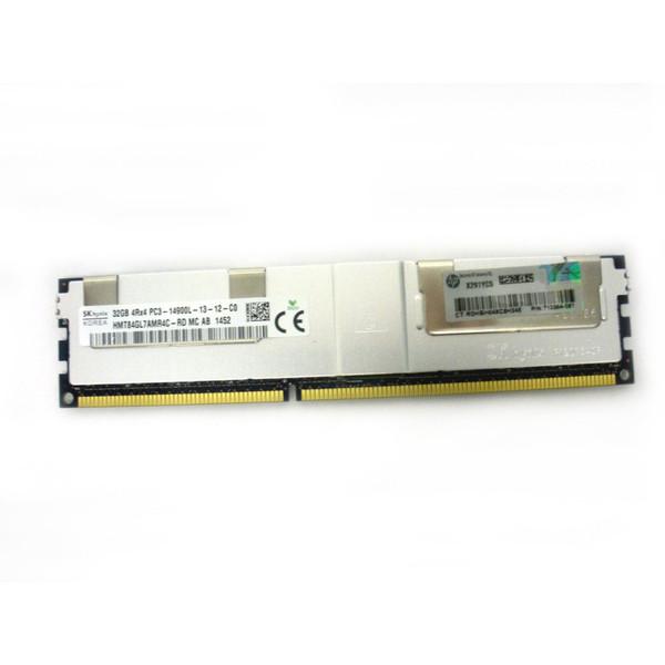 HP 708643-B21 715275-001 712384-081 32GB 4Rx4 PC3-14900L-13 Memory Kit