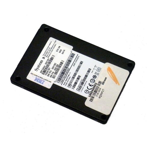 IBM 00W1302 512GB SATA 2.5in Hot Swap SSD Hard Drive via Flagship Tech