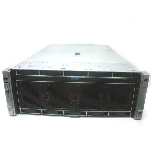 HP DL580 Gen8 E7-4820v2 2.0GHz 8-Core 4P 128GB RPS 2x900GB Server
