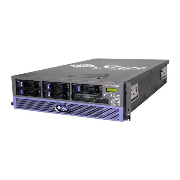 Sun A57-MZB4-8GRB7 V40z 4x 2.4GHz CPU, 8GB RAM, 4x 73GB SCSI HDD, DVD Server