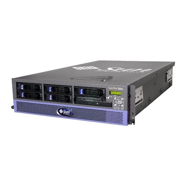 Sun Fire V40z 4x 2.4GHz CPU 8GB RAM 4x 73GB SCSI HDD DVD Server A57-MZB4-8GRB7