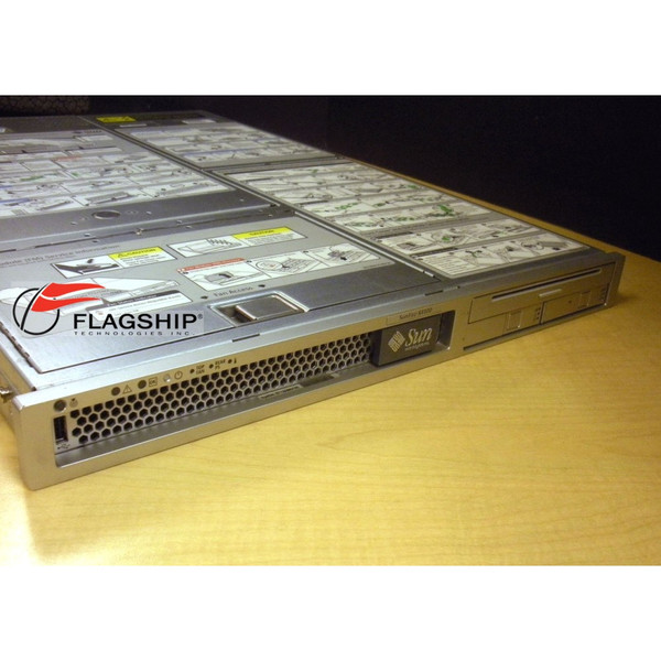 Sun A64-NGB2 X4100 2x 2.6GHz DC 2GB Memory 2x 73GB HD DVD Server w/ Rack Kit