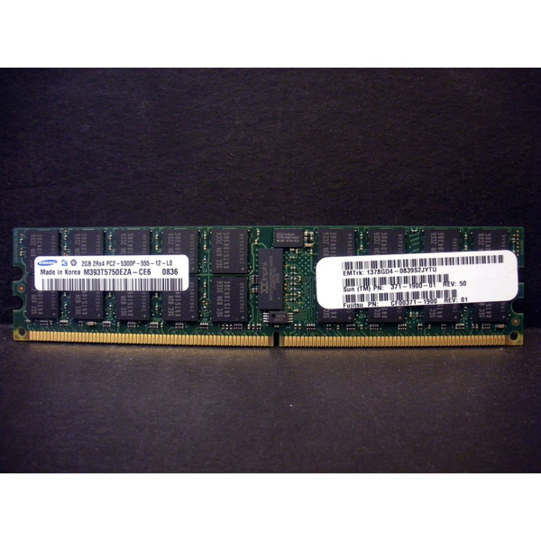 Sun 371-1900 2GB (1x 2GB) Memory DIMM for M4000 M5000 via Flagship Tech