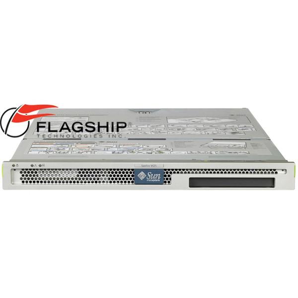 Sun Fire V125 Server 1GHz 1GB Memory 73GB Hard Drive Disk Rack Kit