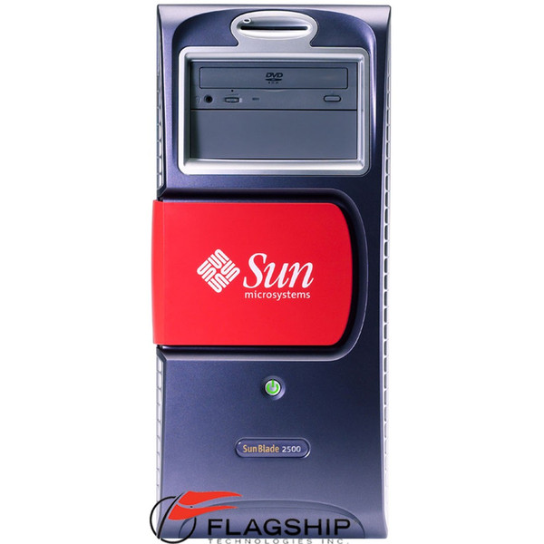 Sun A39-UCB2 Blade 2500 Red Server 2x 1.28GHz 2GB 2x 73GB DVD XVR100
