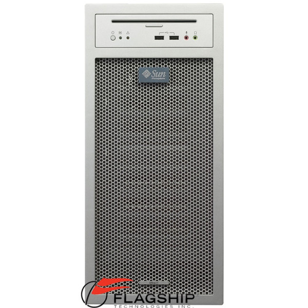 SUN A89-XHZB1-9P-1GDT -- Ultra 25 Server 1.34GHz 1GB Memory 250GB HD DVD Drive XVR100