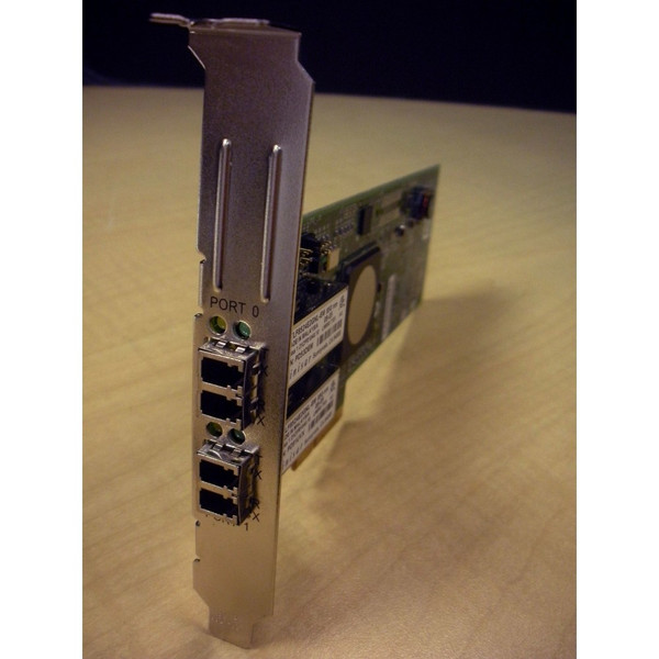 HP 397740-001 A8003A A8003-60001 FC2242SR Dual Port 4Gb FC PCI-e Adapter via Flagship Tech