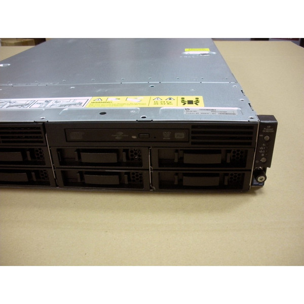 HP 590637-001 DL180 G6 E5506 2.13GHz QC (1P) 4GB 8LFF DVD±RW 460W Server