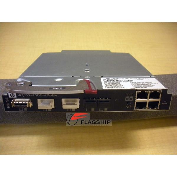HP 447047-B21 447103-001 BLc 1/10 Gb-F Virtual Connect Ethernet Module
