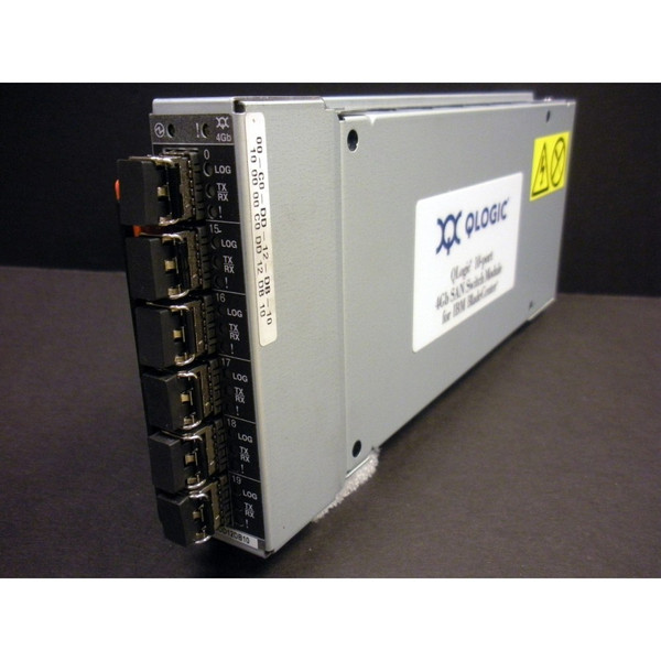 IBM 46C7009 43W672 46C7010 43W6728 QLogic 10-Port 4GB Fibre Channel (FC) SAN Switch Module for IBM BladeCenter