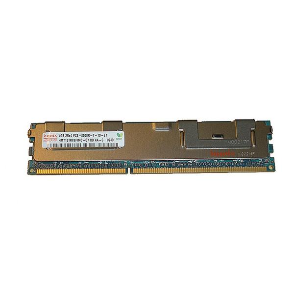 4GB (1x4GB) PC3-8500R 2Rx4 1066MHz Memory RAM RDIMM Dell G484D Hynix HMT151R7BFR4C-G7