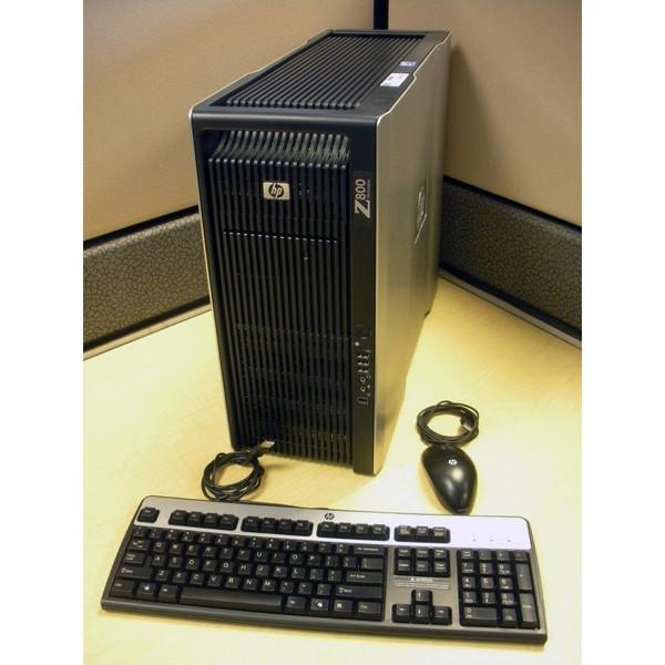 HP FF825AV Z800 W5580 3.2GHz (2P) 12GB 250GB  NVIDIA FX5800 LINUX