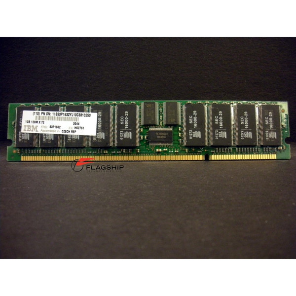 IBM 3044-9406 / 53P1632 1GB (1x 1GB) Main Storage Memory DIMM