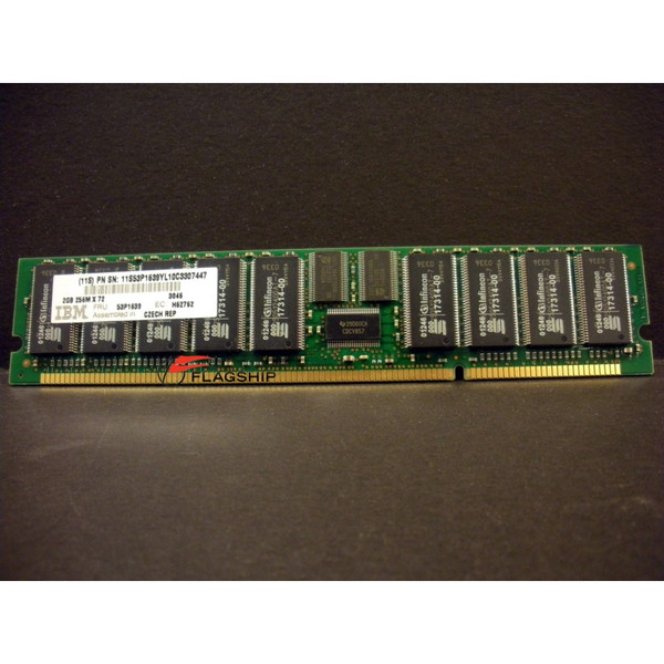 IBM 3046-9406 / 53P1639 2GB (1x 2GB) Main Storage Memory DIMM