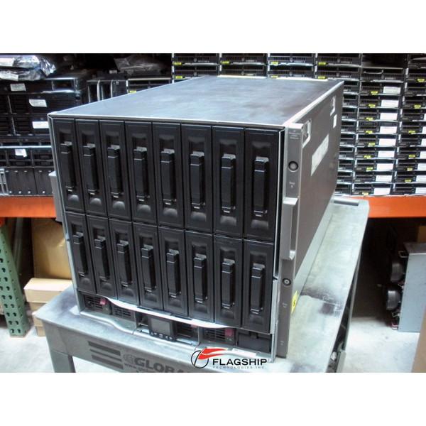 HP 403321-B21 BLc7000 Single Phase 2x P/S, 4x Fan Enclosure (NO ICE LTU'S)