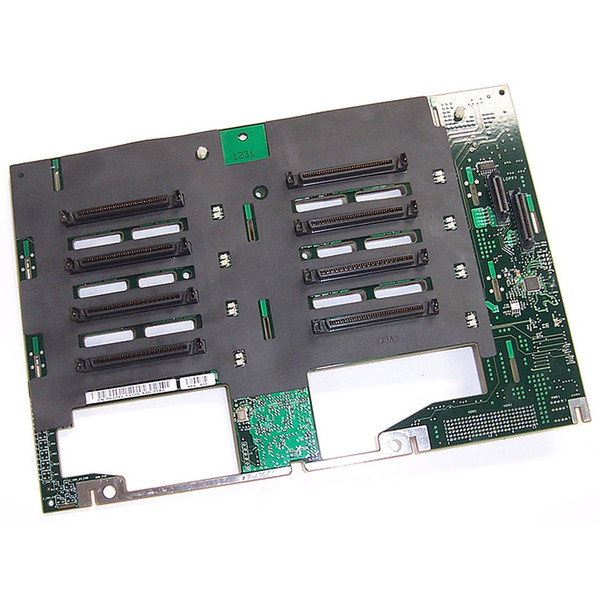 Dell PowerEdge 2800 1x8 SCSI Backplane Board H1051
