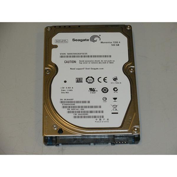 "500GB 7.2K SATA 2.5"" 3Gb/s Laptop Hard Drive Seagate Momentus ST9500420AS 9HV144-300"