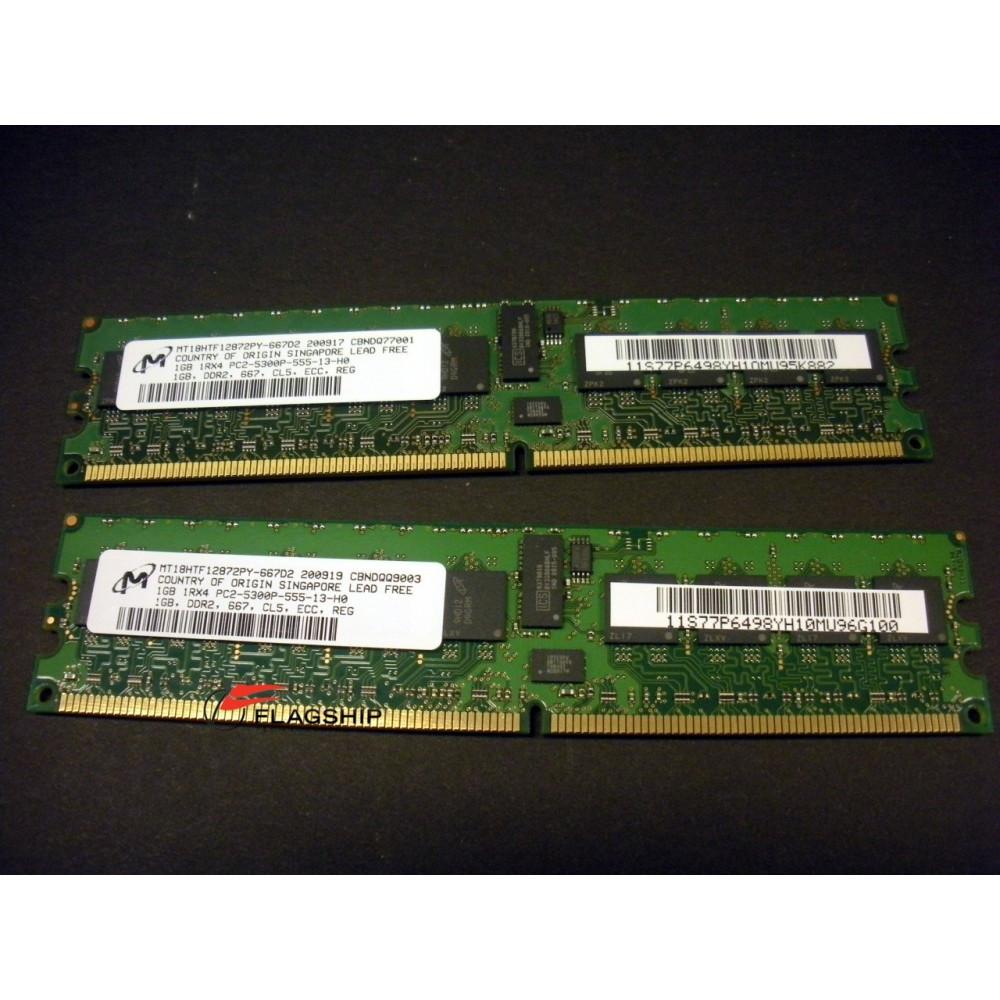 Ibm 4521 82xx 2gb 2x 1gb Main Storage Memory Kit 77p6498 Memori Pc Ddr2 Pc2 6400 Kingston