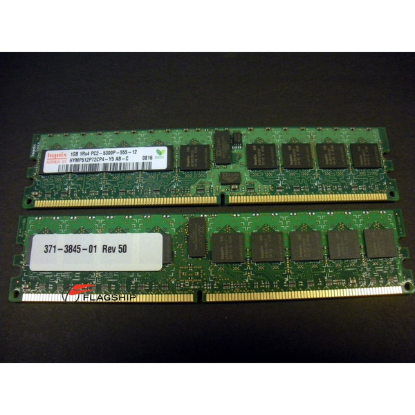 Sun X6320A 2GB (2x 1GB) Memory Kit (371-3845) via Flagship Tech