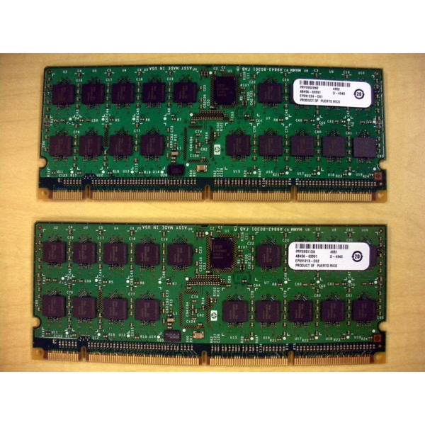 HP AB456A AB456-60201 AB456-69001 16GB (2x8GB) DDR2 Memory Kit for rx7640 rx8640