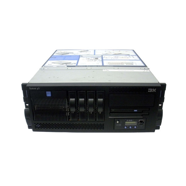 IBM 9131-52A p5+ 2-Way 1.65GHz 8323 8GB 2x 146GB
