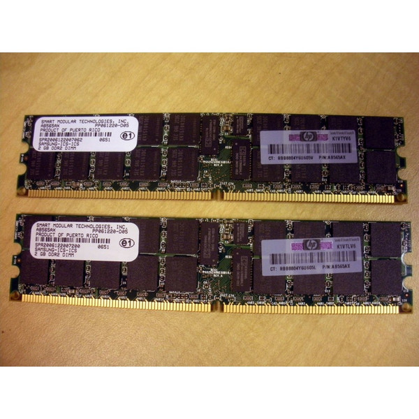 HP AD275A 4GB (2x 2GB) DDR2 PC2-4200 Memory Kit via Flagship Tech