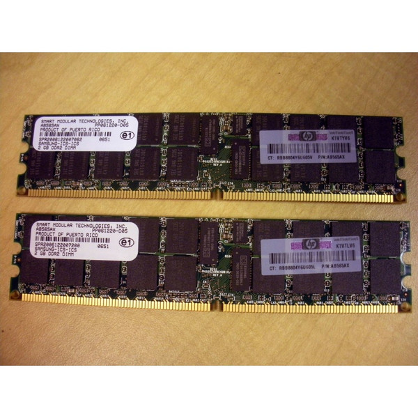 HP AD344A 4GB (2x 2GB) DDR2 PC2-4200 Memory Kit via Flagship Tech