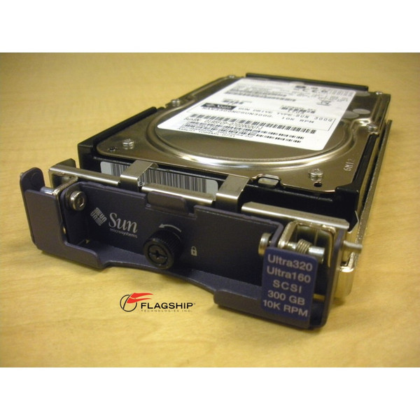 Sun XTA-SC1NC-300G10K 540-6132 300GB 10K SCSI Hard Drive 3120 3310 3320 Array
