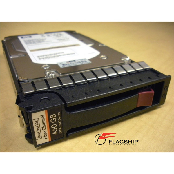 HP AP731B AP731A 518734-001 450GB 10K FC EVA M6412 Hard Drive