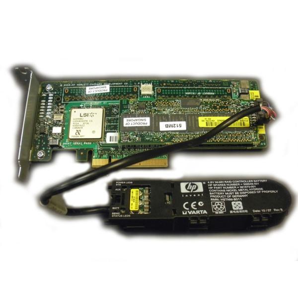 HP 405162-B21 Smart Array P400/512MB Controller w/ Battery
