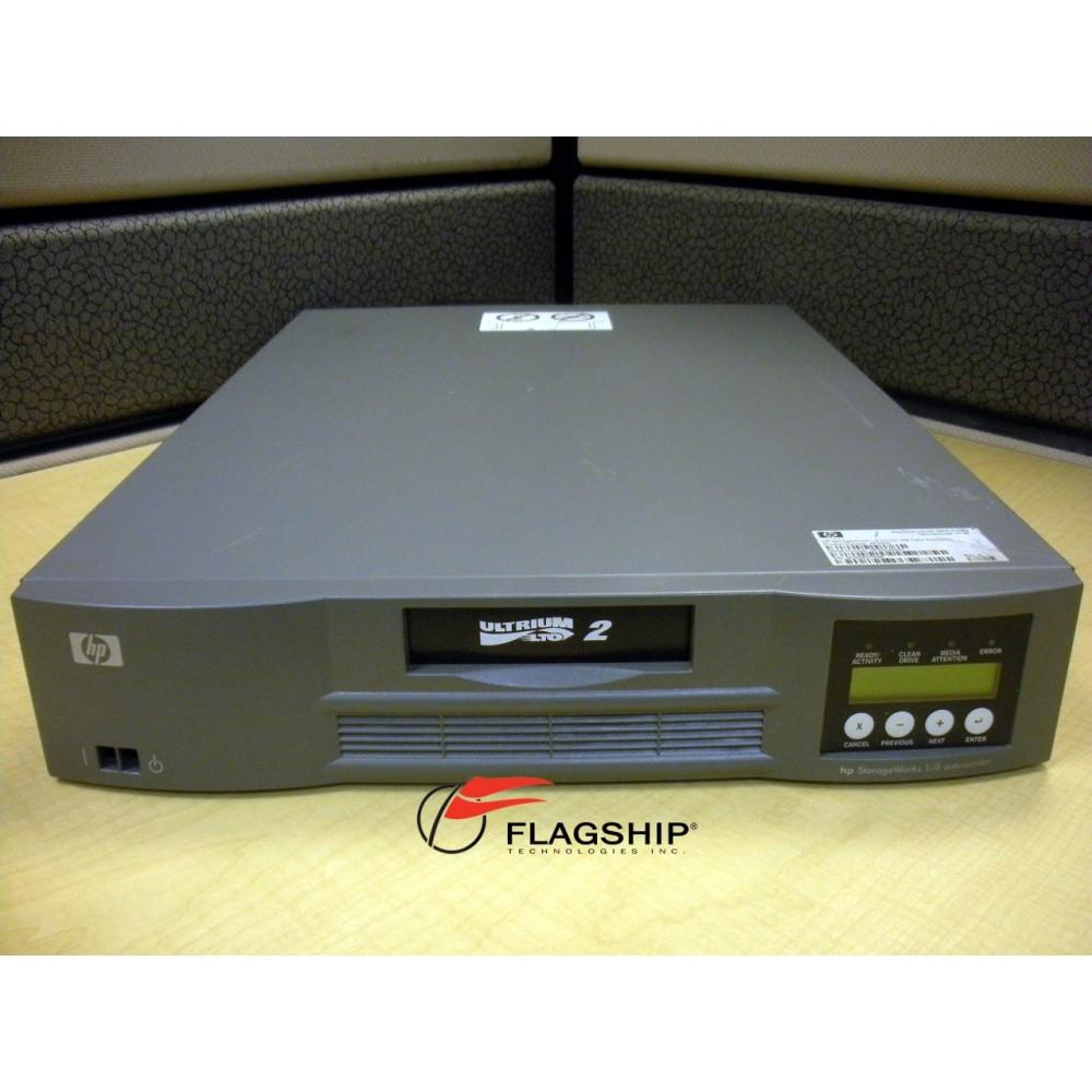 HP AF203A 1 8 Ultrium 448 LTO 2 16 32TB Autoloader LVD SCSI Tape Drive