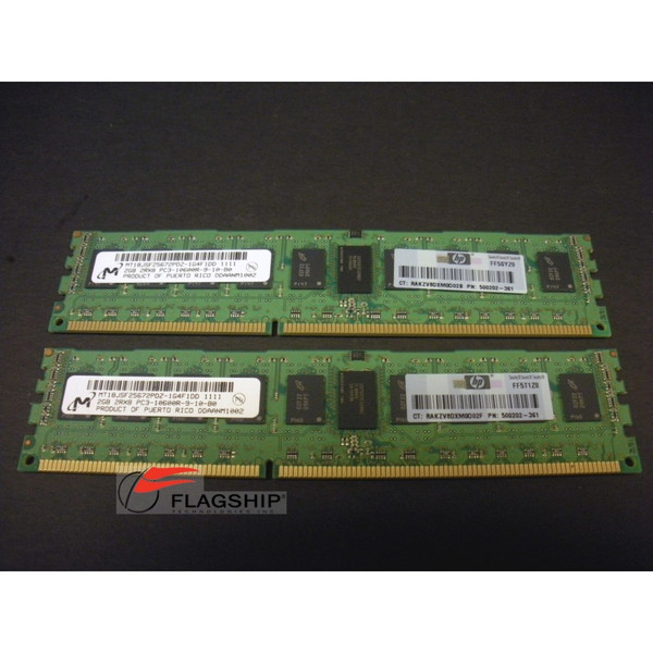 HP AM326A BL8x0c i2 4GB (2x 2GB) Memory Kit