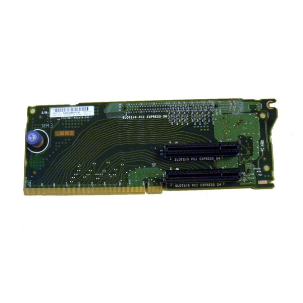 HP 496057-001 451278-001 PCI-e 3-Slot Riser for rx2800 i2 via Flagship Tech
