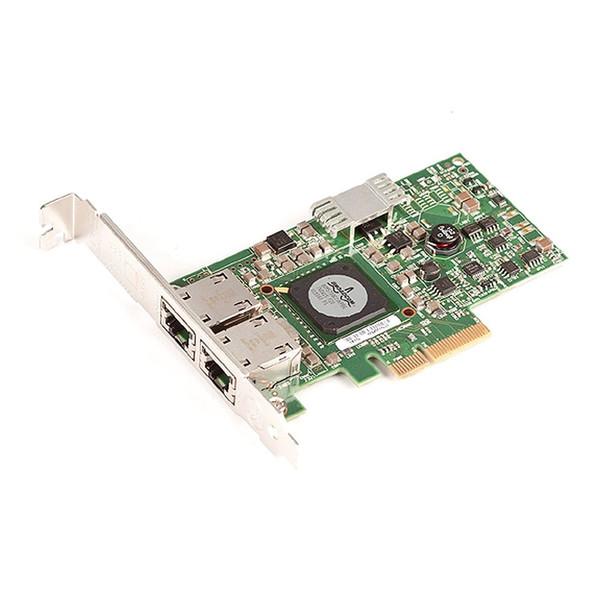 Dell Broadcom 5709 PCI-E Dual-Port Network Card Adapter F169G NIC