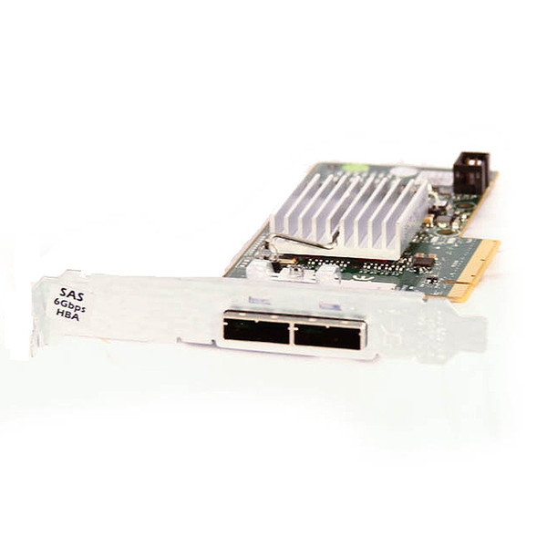 Dell H200E 6Gbps SAS HBA Dual-Port External Controller Adapter 12DNW