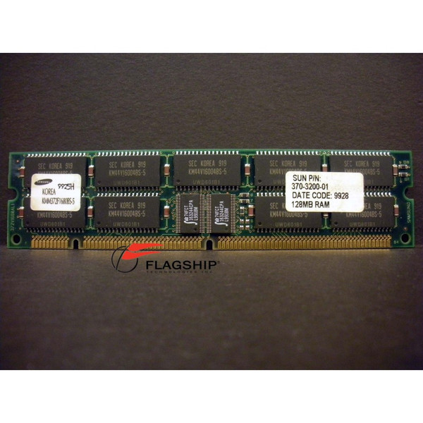 Sun 370-3200 128MB (1x 128MB) DIMM for Ultra 5 10