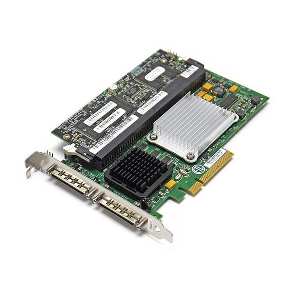 Dell PERC 4e/DC U320 64-bit SCSI PCI-E RAID Controller 128MB X6847