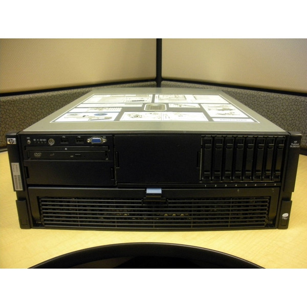 HP 438087-001 DL580 G5 E7330 2.4GHz QC (2P), 4GB Server via Flagship Tech