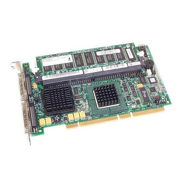 Dell PERC 4 Dual-Channel U320 64-bit SCSI External RAID Controller D9205 J4717