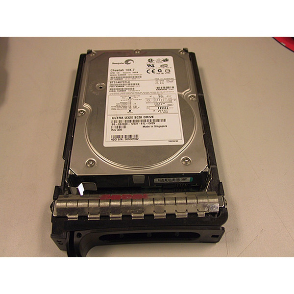 Dell Y4628 146GB 10K U320 SCSI 80Pin Hard Drive Seagate ST3146707LC via Flagship Tech