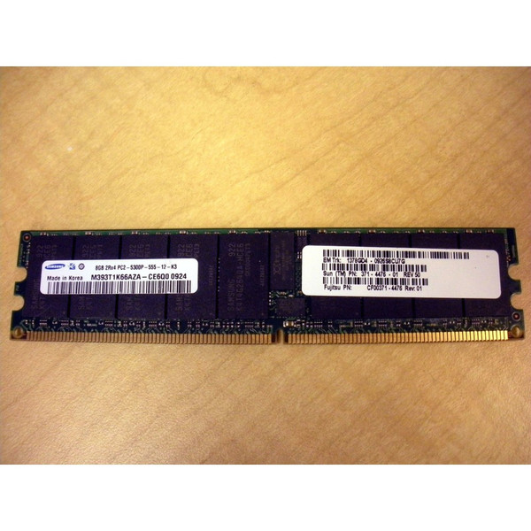 Sun 371-4476 8GB (1x 8GB) Memory DIMM for M4000 M5000 via Flagship Tech
