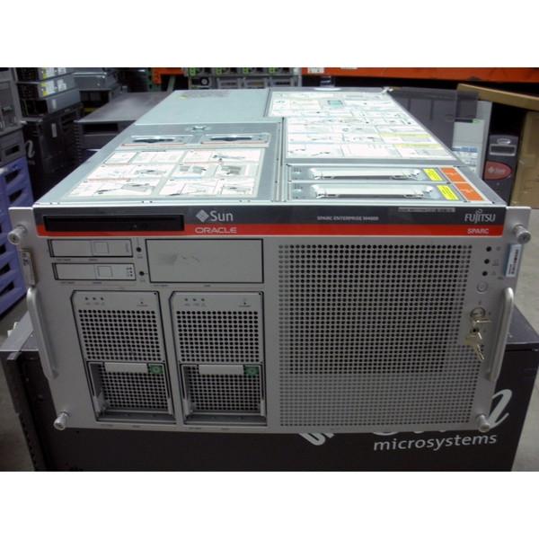 Sun SEEPDJB1Z M4000 2x 2.4GHz QC SPARC64 VII, 8GB, 2x 146GB 10K SAS Server
