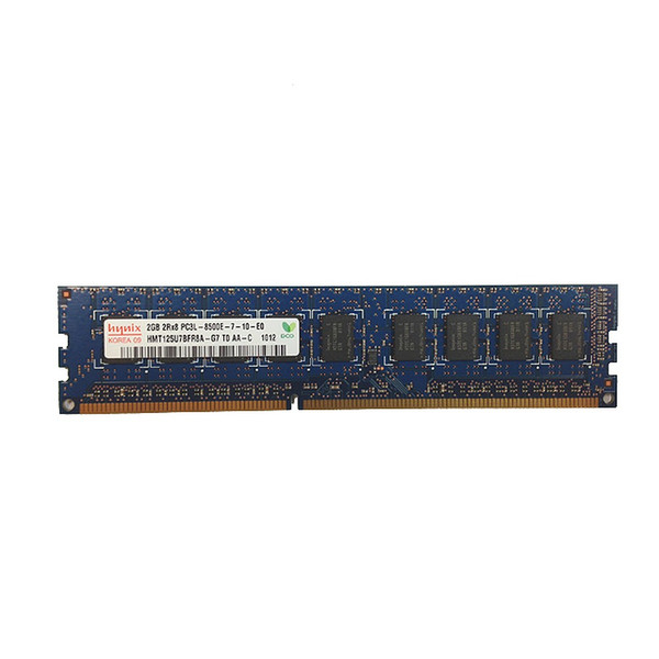 2GB (1x2GB) PC3L-8500E 2Rx8 1066MHz Memory RAM UDIMM Dell W9DD2