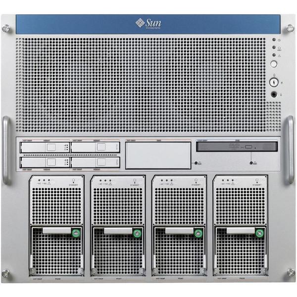 Sun SEFPG M5000 2x 2.53GHz QC SPARC64 VII, 32GB, 2x 146GB 10K SAS Server