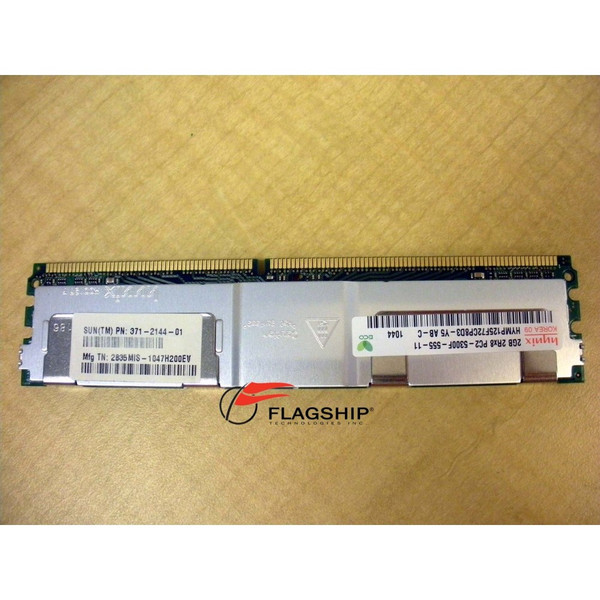 Sun 371-2144 2GB (1x 2GB) Memory DIMM DDR2-667 PC2-5300 for Netra T5220