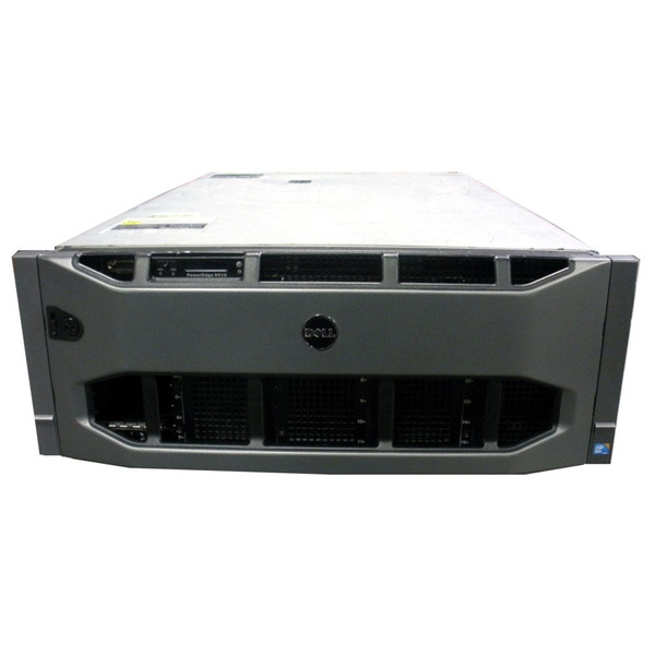 Dell PowerEdge R910 Server 4x 1.87GHz/18MB Six-Core L7545 128GB 4x 600GB 10K SAS